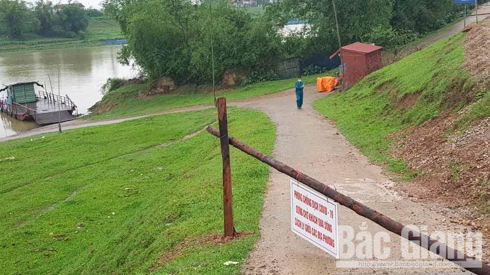 Việt Yên: Người dân khắc phục khó khăn khi tạm dừng hoạt động đò ngang để phòng dịch